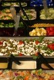 Barra di insalata Immagini Stock Libere da Diritti