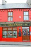 Barra di John B Keane nel listowe Fotografia Stock Libera da Diritti