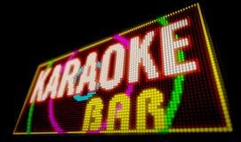 Barra di karaoke Immagine Stock Libera da Diritti