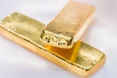 Barra di oro (lingotto dell'oro) Immagini Stock Libere da Diritti