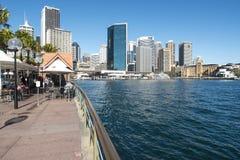 Barra di ostrica a Quay circolare Immagini Stock