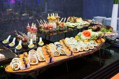 Barra di sushi Fotografie Stock Libere da Diritti