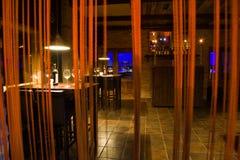 Barra di vino Immagini Stock