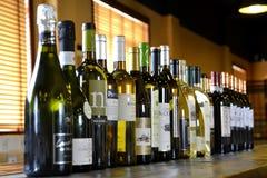 Barra di vino Immagine Stock