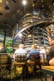 Barra di vino della colonna Fotografie Stock Libere da Diritti