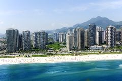 Barra a Dinamarca Tijuca, Rio de Janeiro Foto de Stock Royalty Free