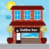 Barra do café Foto de Stock