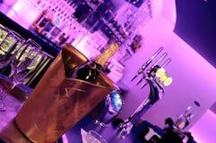 Barra do clube de noite Imagem de Stock