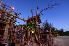 Barra do hippy, Tailândia Fotografia de Stock Royalty Free