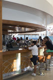 Barra do navio de cruzeiros Fotografia de Stock
