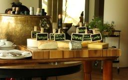 Barra do queijo Imagem de Stock Royalty Free