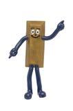 Barra dourada do brinquedo Imagens de Stock