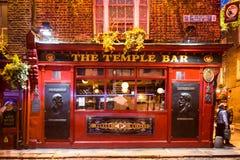 Barra Dublín del templo foto de archivo libre de regalías