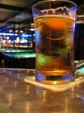 Barra e birra del raggruppamento Immagini Stock