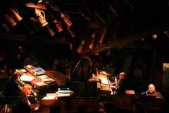 Barra en duelo del piano de OBriens de la palmadita de New Orleans Fotos de archivo