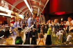 Barra en Gordon Ramsey Steak House Restaurant en el hotel y el casino de París en Las Vegas Imagenes de archivo