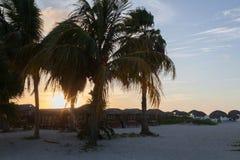Barra en la playa Foto de archivo