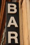 Barra en París Foto de archivo