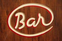 Barra en París imagenes de archivo