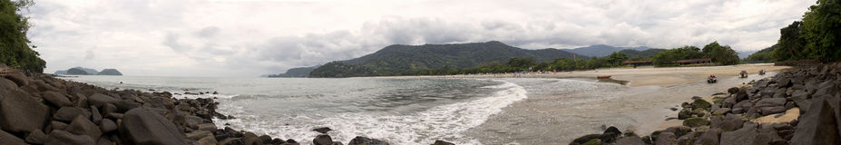 Barra fa la vista panoramica di Sahy - Brasile Immagini Stock