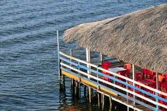 Barra Fluvial Fotografia de Stock