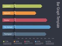Barra graph Imagens de Stock