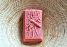 Barra Hand-made do sabão imagem de stock royalty free