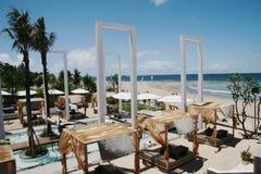 Barra lateral de la playa imagen de archivo libre de regalías