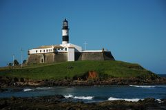 Barra Lighthouse Royalty Free Stock Images