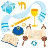 Barra Mitzvah ou arte de grampo de Mitzvah do bastão Imagens de Stock Royalty Free