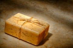 Barra natural del jabón de baño del cuidado de Aromatherapy Marsella fotografía de archivo libre de regalías