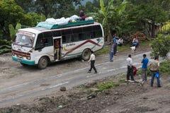 barra-ônibus Foto de Stock