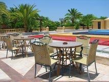 Barra no hotel tropical Fotos de Stock Royalty Free