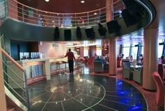 Barra no navio Superfast Fotos de Stock Royalty Free