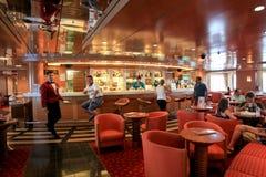 Barra no navio Superfast Foto de Stock Royalty Free