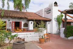 Barra Old Town Saloon at  Old Town San Diego State Historic Park Royalty Free Stock Photo