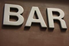 Barra a Parigi Immagine Stock