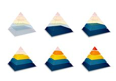 Barra piramidal del progreso o de cargamento libre illustration