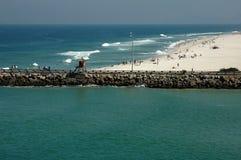 barra plażowy da De Janeiro Rio tijuca zdjęcie stock