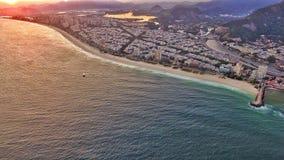 Barra plaża Rio De Janeiro Zdjęcie Royalty Free
