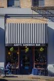 Barra Portland do centro Oregon do sanduíche de Addys Imagens de Stock Royalty Free