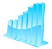 barra realista del progreso 3D Stock de ilustración