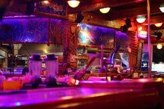 Barra-restaurante moderno fotografia de stock