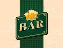 Barra retro Imagens de Stock