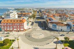 Barra-Strand in Aveiro Lizenzfreie Stockfotografie