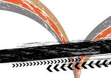 Barra sucia del texto Imagen de archivo