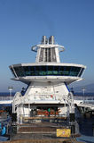 Barra típica de la cubierta del barco de cruceros Fotografía de archivo libre de regalías