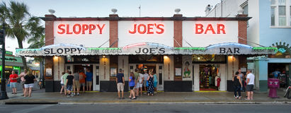 Barra trascurata del Joe in Key West immagine stock