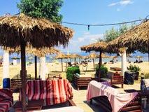 Barra tropical da praia imagem de stock royalty free