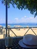 Barra tropical da praia imagens de stock royalty free